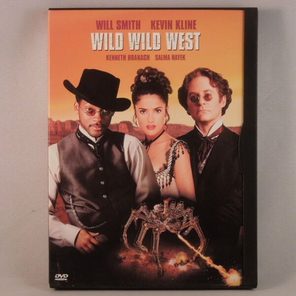=WILD WILD WEST (DVD 1999 Warner Bros.) 17175 Will Smith Salma Hayek