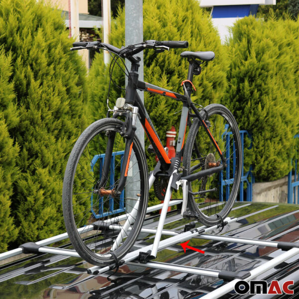 Roof Bike Bicycle Carrier Rack Mount Alu. Silver For Audi Q5 SQ5 2009 2017 $80.66