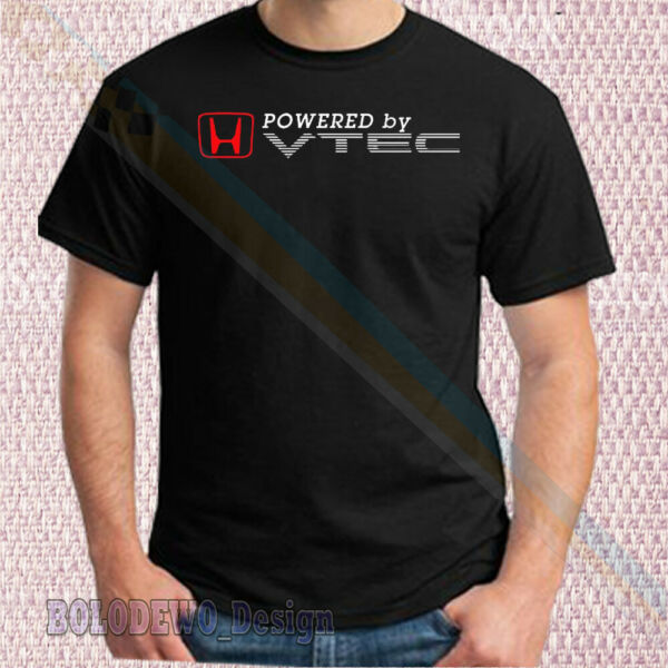 New LImited T Shirt Honda Powered By VTEC Racing Car Motorcycle All Size 33us1