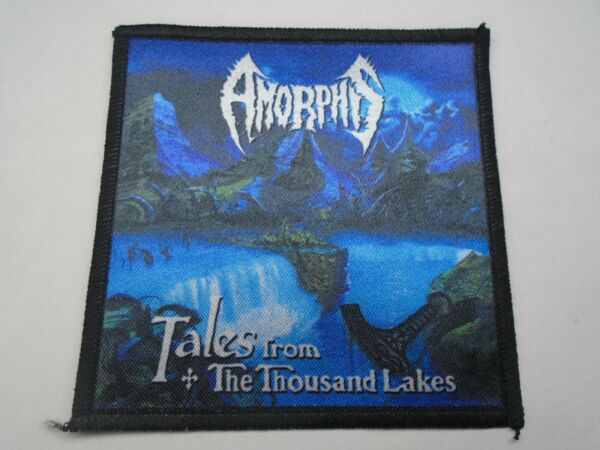 AMORPHIS TALES FROM THE THOUSAND LAKES SUBLIMATED PATCH