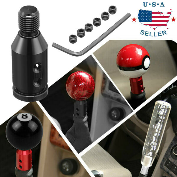 Shift Knob Adapter Shifters Non Threaded 12x1.25mm Universal Manual For BMW Mini