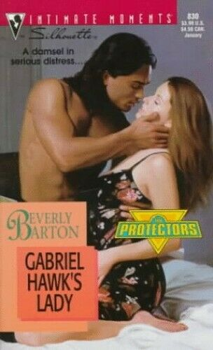 Gabriel Hawk's Lady (Sensation S.) by Barton Beverly Paperback Book The Fast