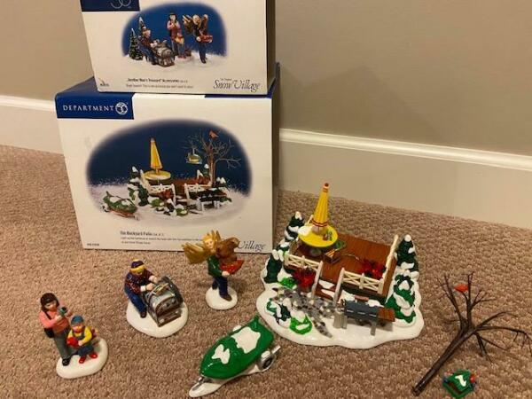 Department 56 The Backyard Patio and Another Man#x27;s Treasure Accessories $25.99