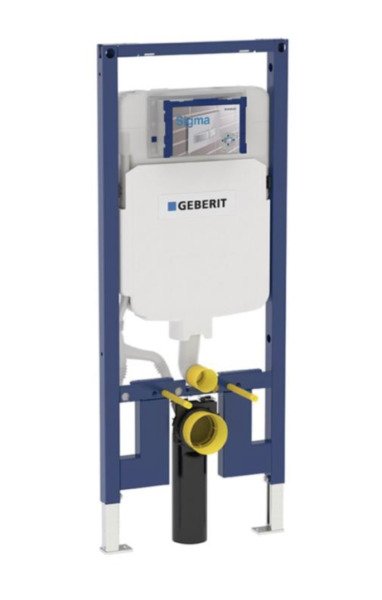 Geberit 111.798.00.1 Concealed Toilet Carrier Frame wDual-Flush Tank  2x4 Walls