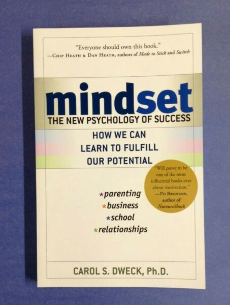 Mindset : The New Psychology of Success by Carol S. Dweck (2007 Paperback)-NEW