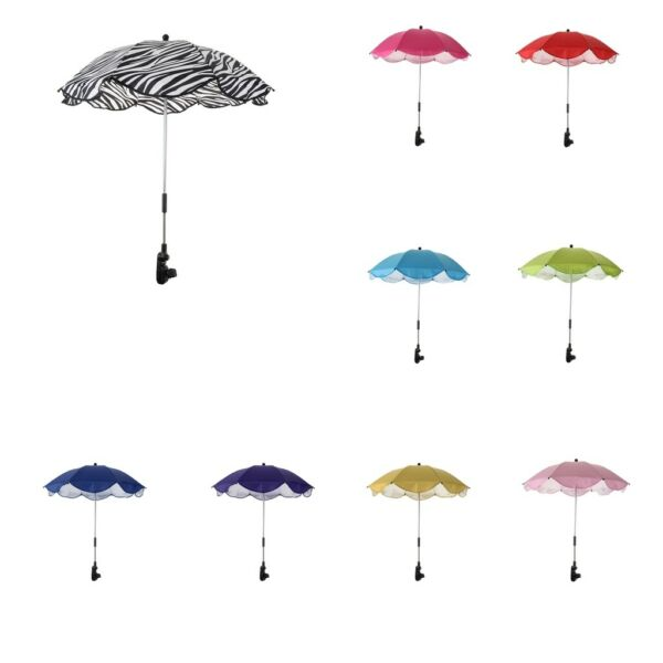 Portable Clamp on Umbrella All Weather Camping Shelter Sand Beach Parasol Canopy $17.96