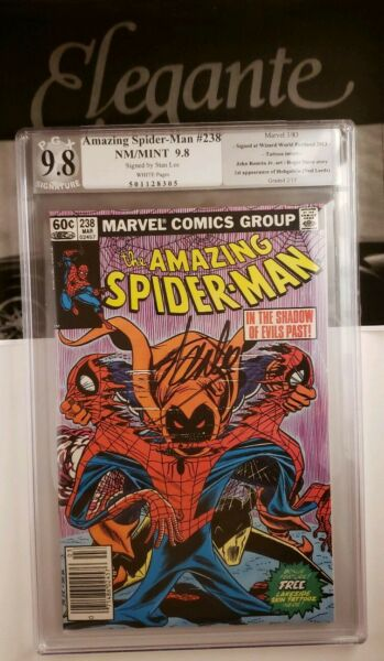 Amazing Spider-Man 238 Stan Lee Signed 9.8 1st Hobgoblin  (Tattooz in place)