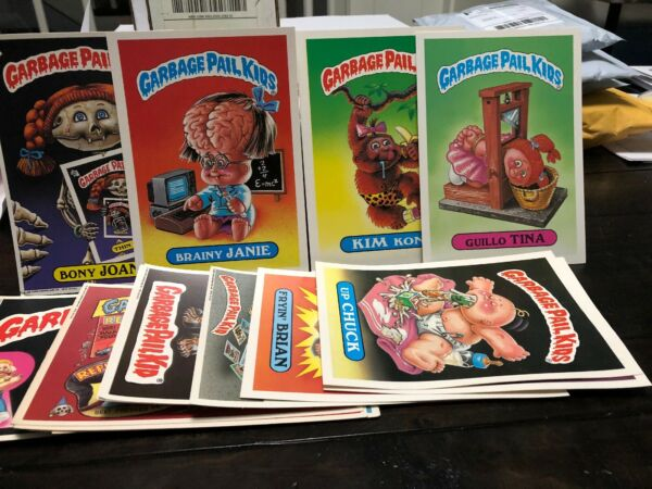 Garbage Pail Kids - Giant Cards - Original 1st Series - Excellent Condition!!!