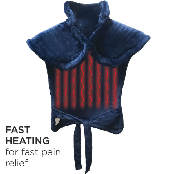 Extra Large Full Back Shoulders and Neck Heating Pad 24