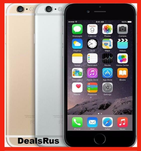 Apple iPhone 6 16GB Factory Unlocked Smartphone SFR