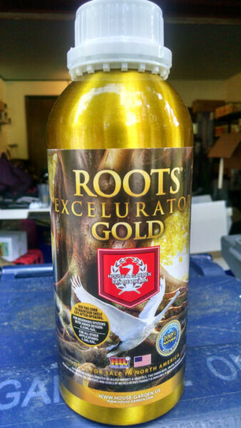 Roots Excelurator 1L GOLD one liter quart by House and Garden nutrients excel