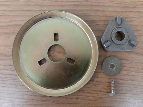 MTD Craftsman Auger Pulley 956 04024 756 04024 amp; Adapter 748 04067A 748 04067.