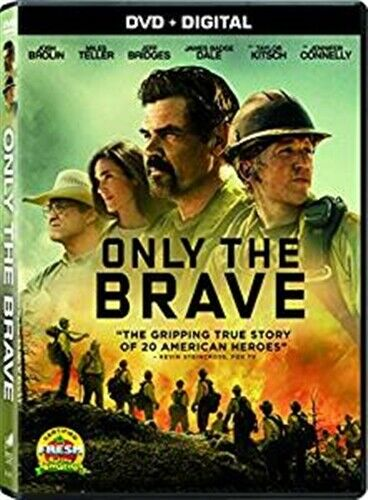 ONLY THE BRAVE New Sealed DVD Granite Mountain Hotshots