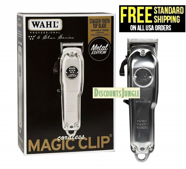 Wahl Professional 5-Star Cordless Magic Clip Metal Edition #8509 Trimmer - NEW