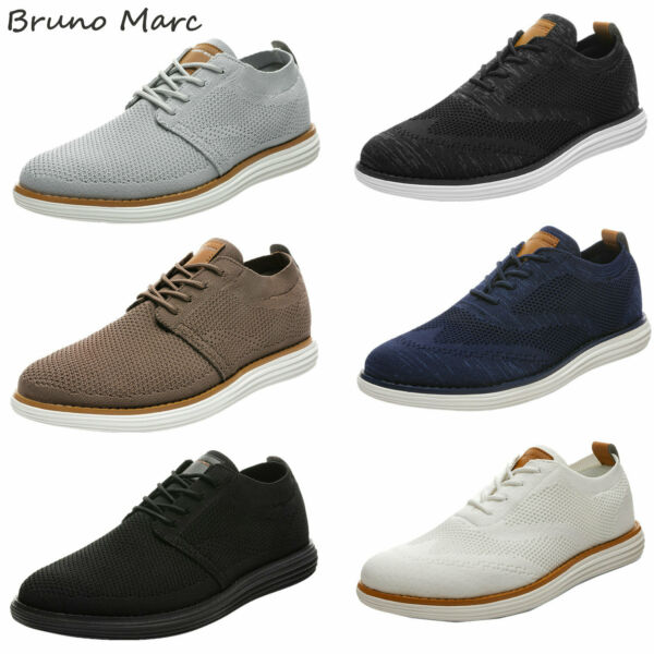 Bruno Marc Men#x27;s Casual Shoes Walking Shoes Comfort Lightweight Lace up Sneakers