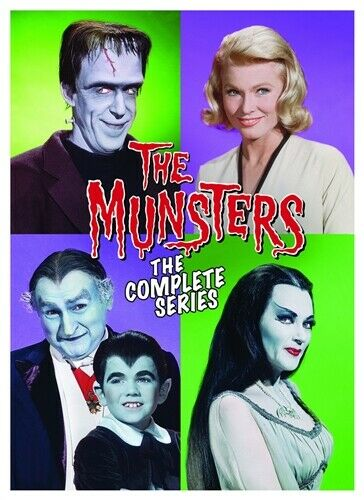 THE MUNSTERS COMPLETE SERIES New Sealed 12 DVD Set Seasons 1 2 Both Movies $16.98