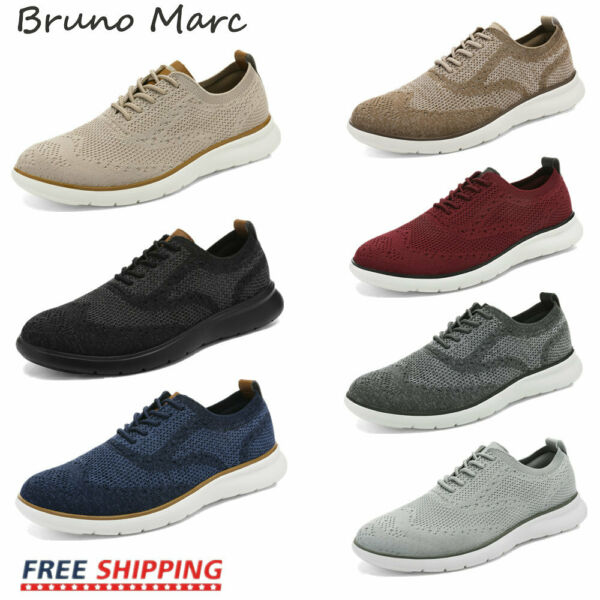 Bruno Marc Men's Sneakers Casual Walking Tennis Athletic Running Shoes Lace Up $27.54