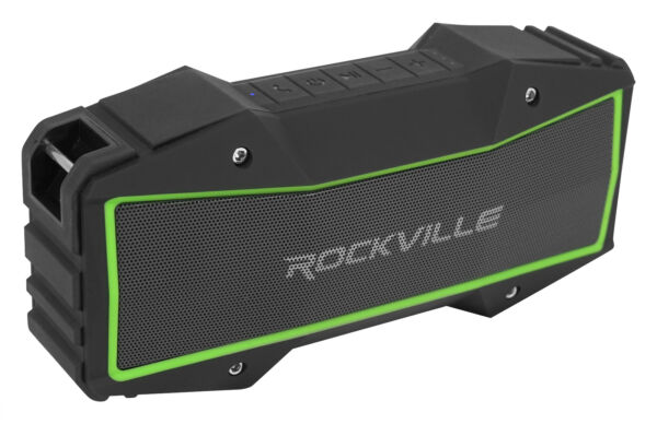 Rockville ROCK EVERYWHERE Portable Bluetooth Speaker Waterproof Wireless Link