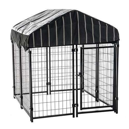 Lucky Dog Modular Welded Wire Heavy Duty Dog Cage Fence Kennel For Parts $122.99