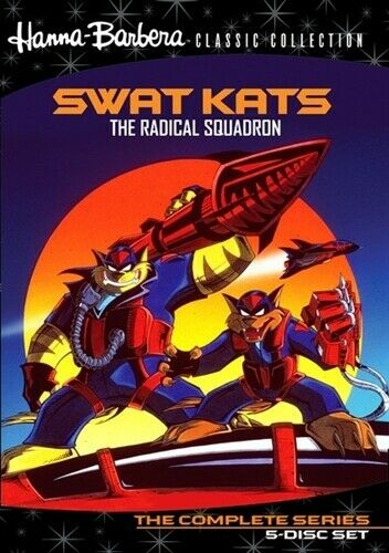 SWAT KATS THE RADICAL SQUADRON COMPLETE SERIES New 5 DVD Set Warner Archive
