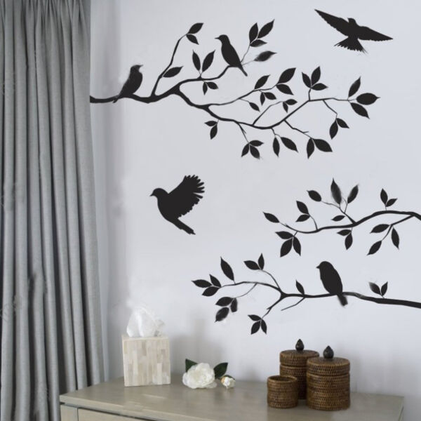 Family Tree Wall Decal Sticker for Bedroom Living Room Waterproof Home Decor