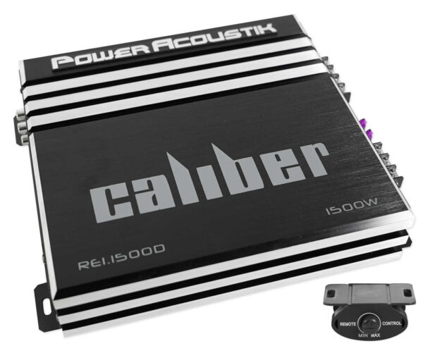 Power Acoustik RE1 1500D 1500 Watt Mono Amplifier Car Audio Amp