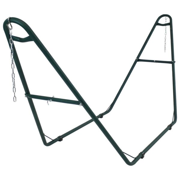Sunnydaze Hammock Stand Steel with Green Finish Heavy Duty Universal Multi Use $119.00