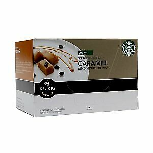 Starbucks Sweet and Buttery Caramel K Cups For Keurig Brewing 10 K Cups