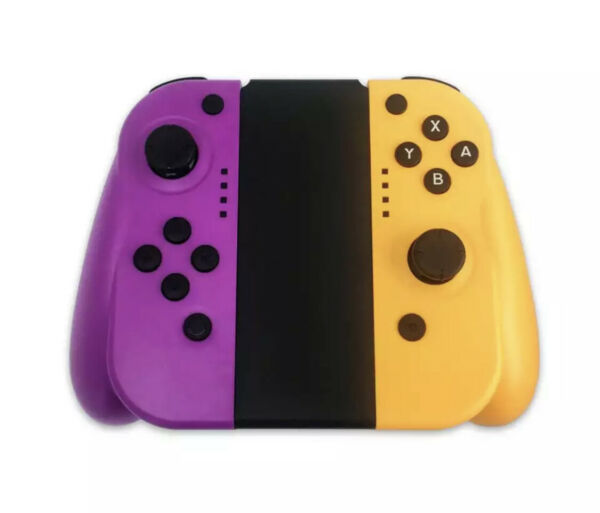 JALVDE for Nintendo Switch (LR) Wireless Bluetooth Controllers Set- Purpyellow