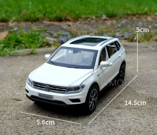 1 32 VW Volkswagen Tiguan L Diecast Metal SUV CAR MODEL Toys Kids gifts $13.75