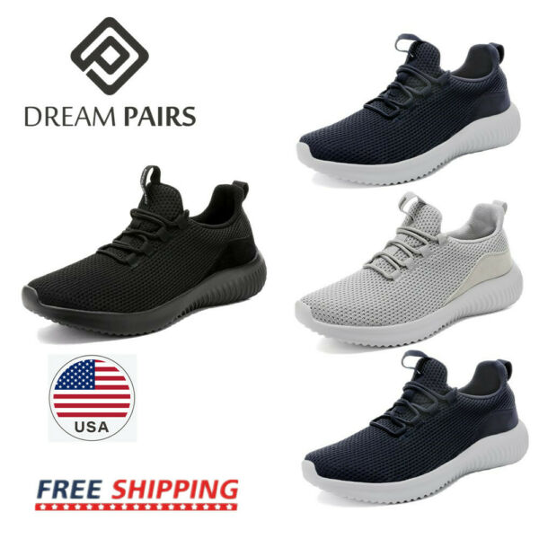 DREAM PAIRS Men#x27;s Sneakers Running Tennis Athletic Walking Trainer Casual Shoes