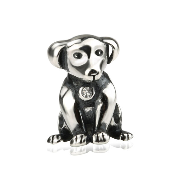 New AUTHENTIC Sterling Silver SS 925 Loyal Dog Charm $14.95