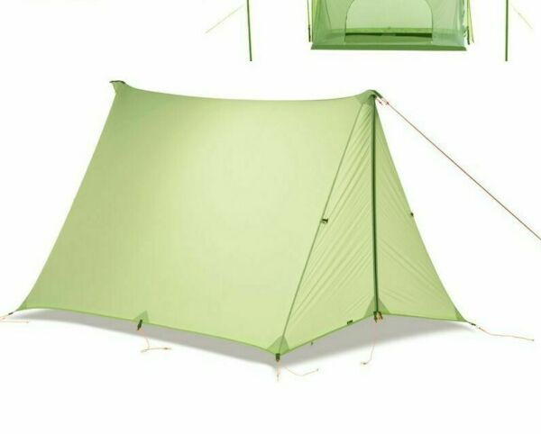 Awning Outdoor Rainfly Tents Shelter Nylon Double Side Ultralight Camping Canopy