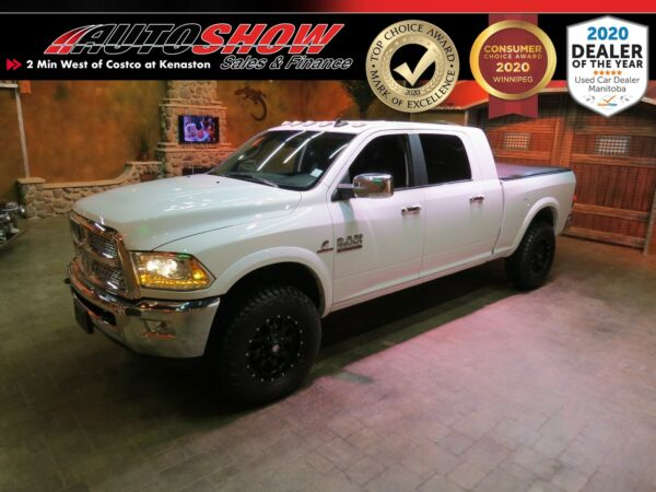 2018 Ram 2500 Laramie Mega Cab 4WD-Leather-Tonneau Cover- B.Up C 2018 Ram 2500 for sale!