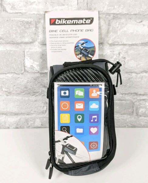 Bikemate Bike Cellphone Bag Smartphone Holder Case Clear Bicycle Accessories $16.00