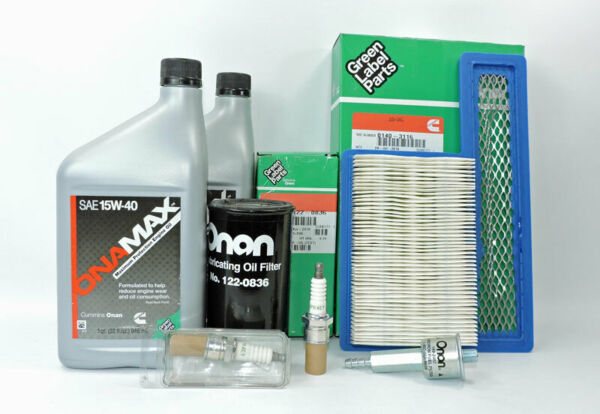Cummins Onan OEM HGJAB Gas RV Tune Up Kit A049E501 Marquis 5500 6500 7000.