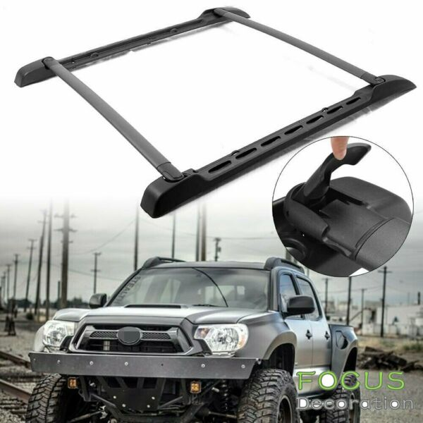 Roof Rack Cross Bars Rail Set for Toyota Tacoma Double Cab 2005 2019 Auto $107.99