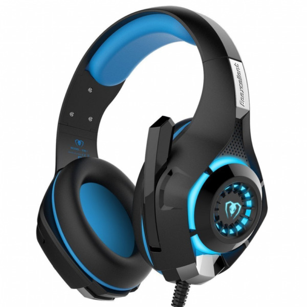 3.5mm Gaming Headset Wired Over LED Headphones Stereo with Mic for Xbox OnePS4