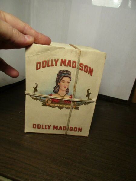 1000 Vintage Cigar Box Labels Factory Wrapped - Dolly Madison - Mild Satisfying