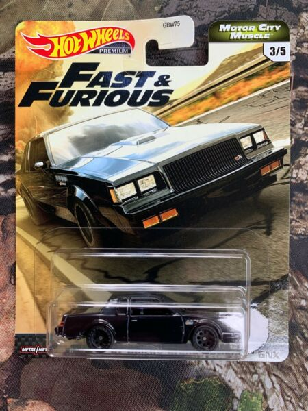 Hot Wheels Fast & Furious Motor City Muscle '87 Buick Grand National GNX