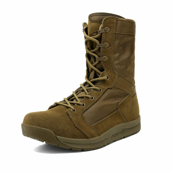 Men's Military Tactical Combat Army Boots Lightweight Outdoor Hiking Work Boots $40.47