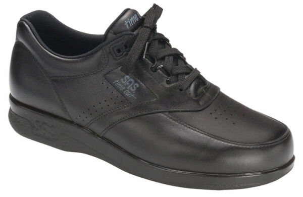 SAS Men#x27;s Shoes Time Out Black 10.5 W3 Triple Wide FREE SHIPPING Brand New Save$