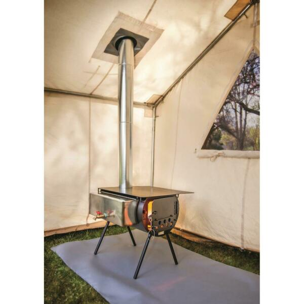 Colorado Cylinder Stoves Stove Mat Tent Shield Silicone Coated Fire Retardant