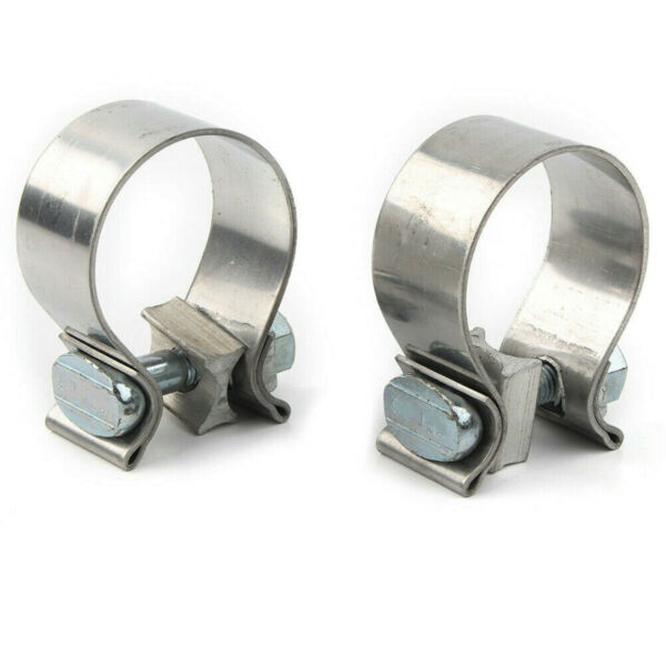 KCINT PR MUFFLER CLAMPS STAINLESS FOR SLIP ONS MUFFLERS HARLEY TOURING 95 16