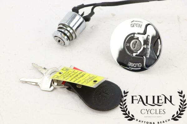 Harley Replacement Ignition Switch 70124 75 amp; Gas Cap Lock w Key $50.00