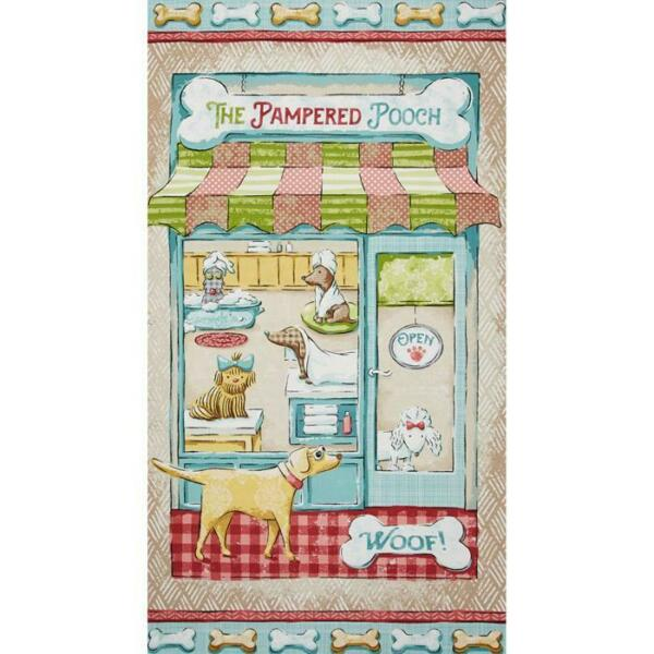 Fabric Pampered Pooch 24