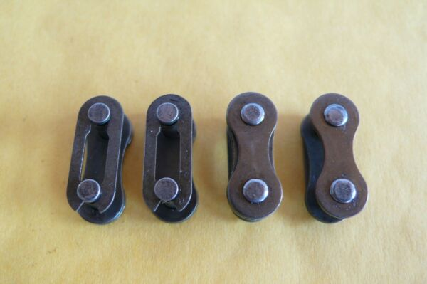 Four 4 Bicycle Bike Single Speed Quick Chain Master Link Connector $3.25