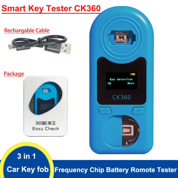 Remote Tester Car key Radio Frequency Infrared 315Mhz-868Mhz Chip Battery Tester
