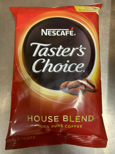 Taster#x27;s Choice 8oz House Blend Instant Coffee makes 132 cups BB 6 2021 Nescafe $8.85