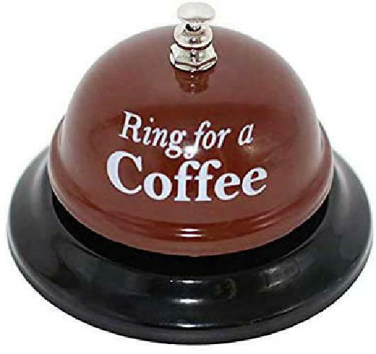 Ring for a Coffee Desk Kitchen Bar Counter Top Service Call Bell Accessories $11.89